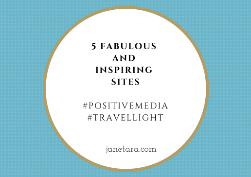 Staying positive: 5 fabulous and inspiring sites
